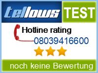 tellows Bewertung 08039416600